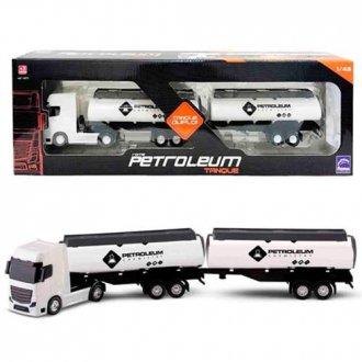 Imagem - Caminhão Petroleum Tanque - Roma Brinquedos cód: F64418