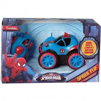 Imagem - Carrinho Controle Remoto SpiderMan cód: F32536