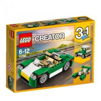 Imagem - Carro de Passeio Verde Lego cód: P49369