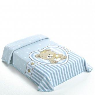 Imagem - Cobertor Superstar King Size Azul cód: P35813