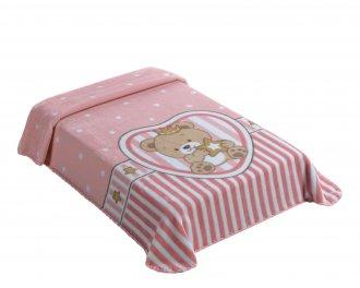 Imagem - Cobertor Superstar King Size Rosa cód: P38973