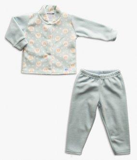 Imagem - Conjunto Azul e Rosa Confec. Infantil cód: P1947