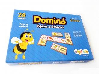 Imagem - Dominó Figuras e Palavras cód: P51203