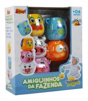 Imagem - Empilha Bichinhos Amiguinhos da Fazenda cód: 42561