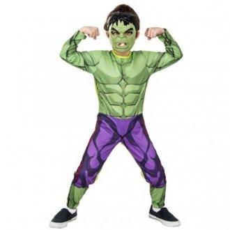 Imagem - Fantasia Hulk 10 a 12 anos cód: F58428