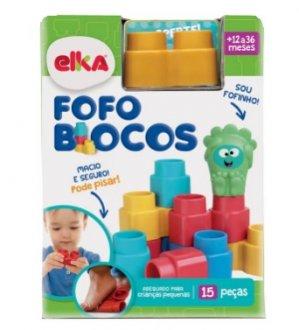 Imagem - Fofo Blocos 15 peças Elka cód: P48071