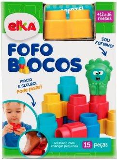 Imagem - Fofo Blocos 25 Peças Elka cód: P51513