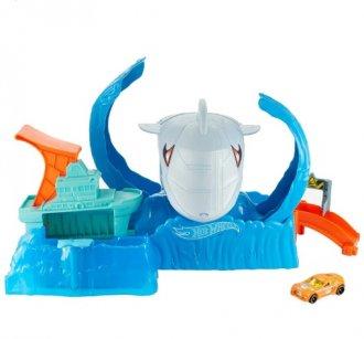 Imagem - Hot Wheels City Robo Tubarão cód: F55994