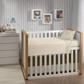 Imagem - Jogo De Cama Bebê Mini Menino 3 Peças Malha Lepper  cód: 40480