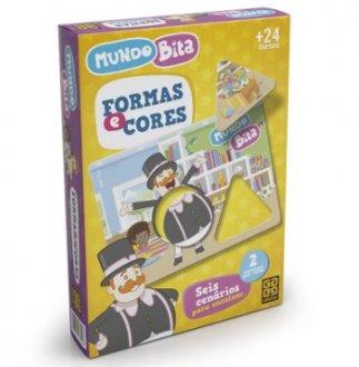 Imagem - Jogo Formas e Cores Mundo Bita cód: P53230
