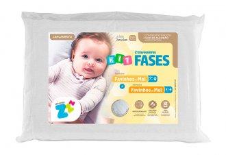 Imagem - Kit 2 Travesseiros Fibrasca - 02 Fases cód: 42896