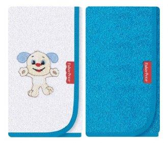 Imagem - Kit com 2 fraldinhas de boca Atoalhadas Cachorrinho - Fisher Price cód: 40568