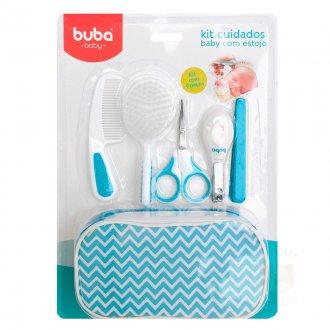 Imagem - Kit Cuidados Baby Buba com Estojo Azul cód: P22
