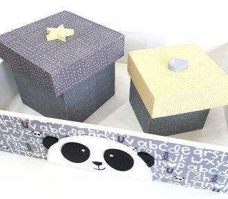 Imagem - Kit Higiene Panda cód: P36185
