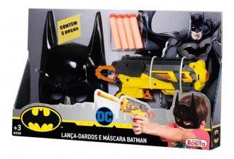 Imagem - Lança Dardos e Mascara Batman cód: P55638