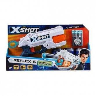 Imagem - Lançador De Dardos X Shot Reflex 6 Com 6 Dardos cód: F58602