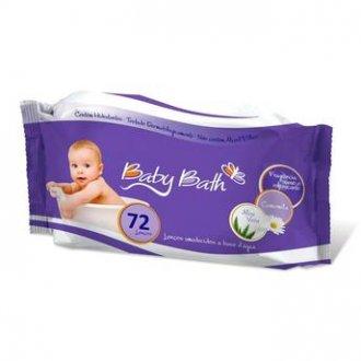 Imagem - Lenços Umedecidos Baby Bath cód: P16974