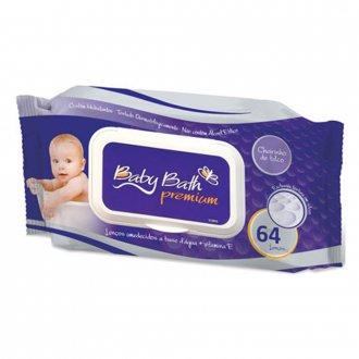 Imagem - Lenços Umedecidos Baby Bath cód: P12183