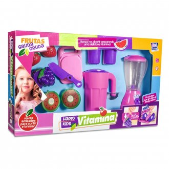 Imagem - Liquidificador De Brinquedo Happy Kids Vitamina - Zuca Toys cód: F63681
