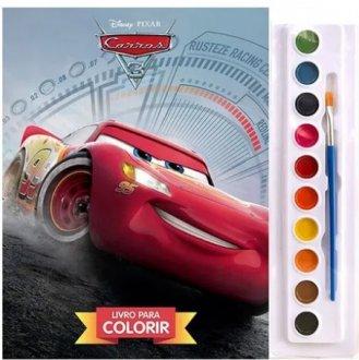 Imagem - Livro Disney Aquarela Carros cód: F58241