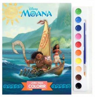 Imagem - Livro Disney Aquarela Moana cód: F58242