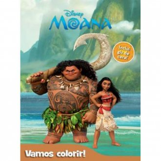 Imagem - Livro Disney Vamos Colorir cód: F58254