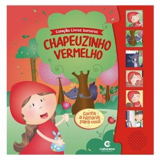 Imagem - Livro Sonoro Chapeuzinho Vermelho cód: F61626