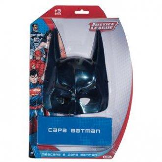 Imagem - Máscara e Capa Batman cód: P2644