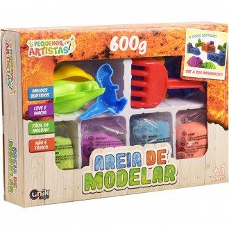 Imagem - Massa Areia de Modelar 600g cód: P51120