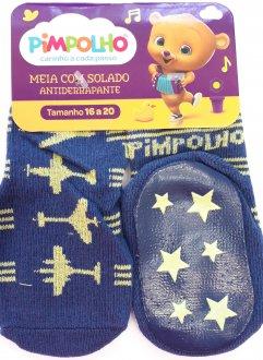 Imagem - Meia com Solado Antiderrapante cód: P10054