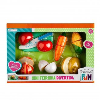Imagem - Mini Feirinha Divertida Legumes - Multikids cód: F63873