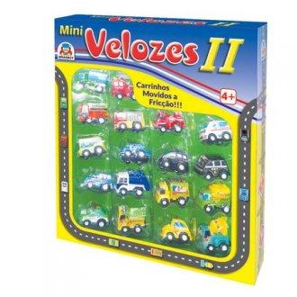 Imagem - Mini Velozes Braskit cód: P50638