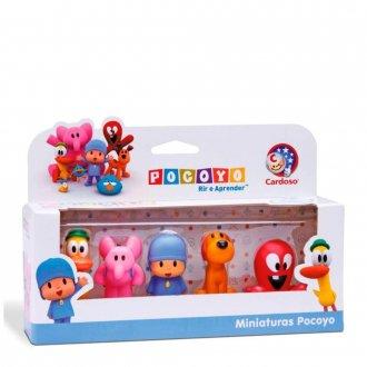 Imagem - Miniaturas Pocoyo - Cardoso Toys cód: F59025
