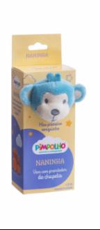 Imagem - Naninha com Prendedor de Chupeta cód: P970