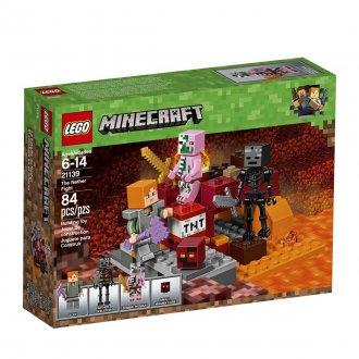 Imagem - O Combate de Nether Lego cód: P23704