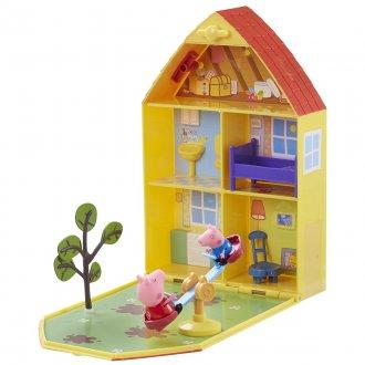 Imagem - Peppa Pig Casa com Jardim cód: P48202