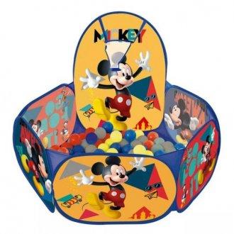 Imagem - Piscina Bolinhas Mickey com Cesto Basquete cód: F58643