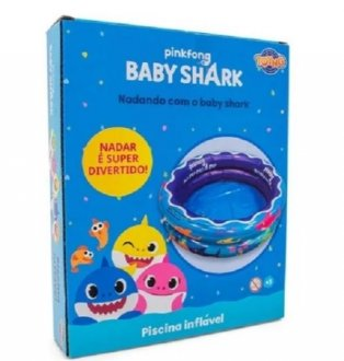 Imagem - Piscina Inflável 37L Baby Shark - Toyng cód: F59103