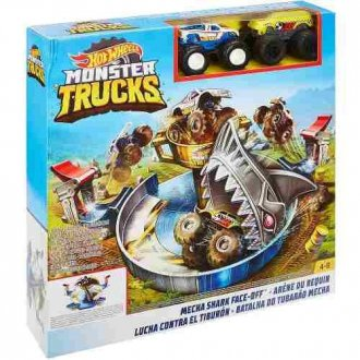 Imagem - Pista Monster Trucks Hot Wheels cód: P52945