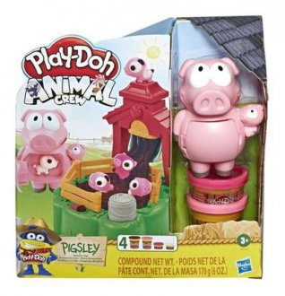 Imagem - Play Doh Animal Crew Porquinho na Fazenda cód: P57792