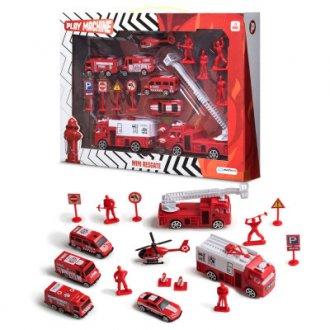 Imagem - Play Set Bombeiro Mini Resgate  cód: F57923