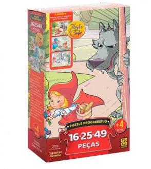 Imagem - Puzzle Progressivo Chapeuzinho Vermelho cód: P50356