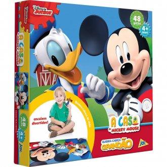 Imagem - Quebra Cabeça A Casa do Mickey cód: P48634