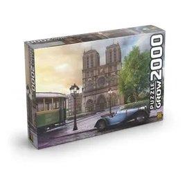 Imagem - Quebra Cabeça Catedral de Notre-Dame cód: P54617