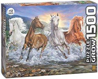 Imagem - Quebra Cabeça Cavalos cód: P55985