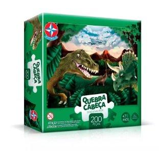 Imagem - Quebra Cabeça Dinossauros cód: P49358