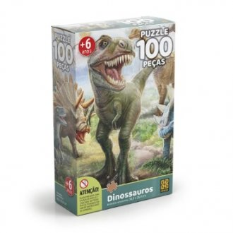 Imagem - Quebra Cabeça Dinossauros cód: P819