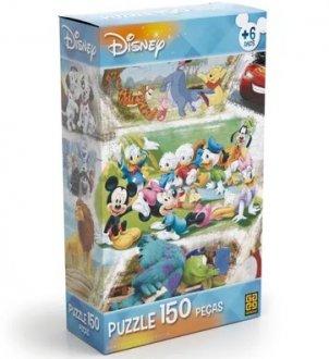 Imagem - Quebra Cabeça Disney Grow cód: P14324