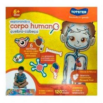 Imagem - Quebra Cabeça Explorando o Corpo Humano cód: P56549