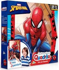 Imagem - Quebra Cabeça Quadrão Spider cód: P22724